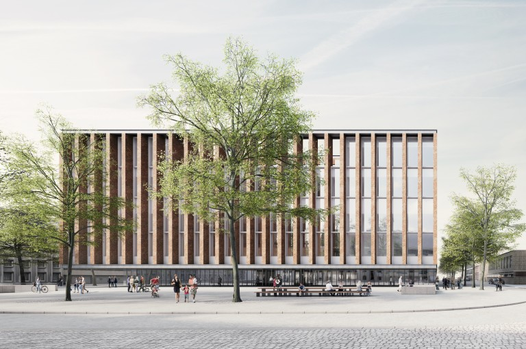 META and Eduardo Souto de Moura design the Beursplein & Congresgebouw urban renewal project in Bruges