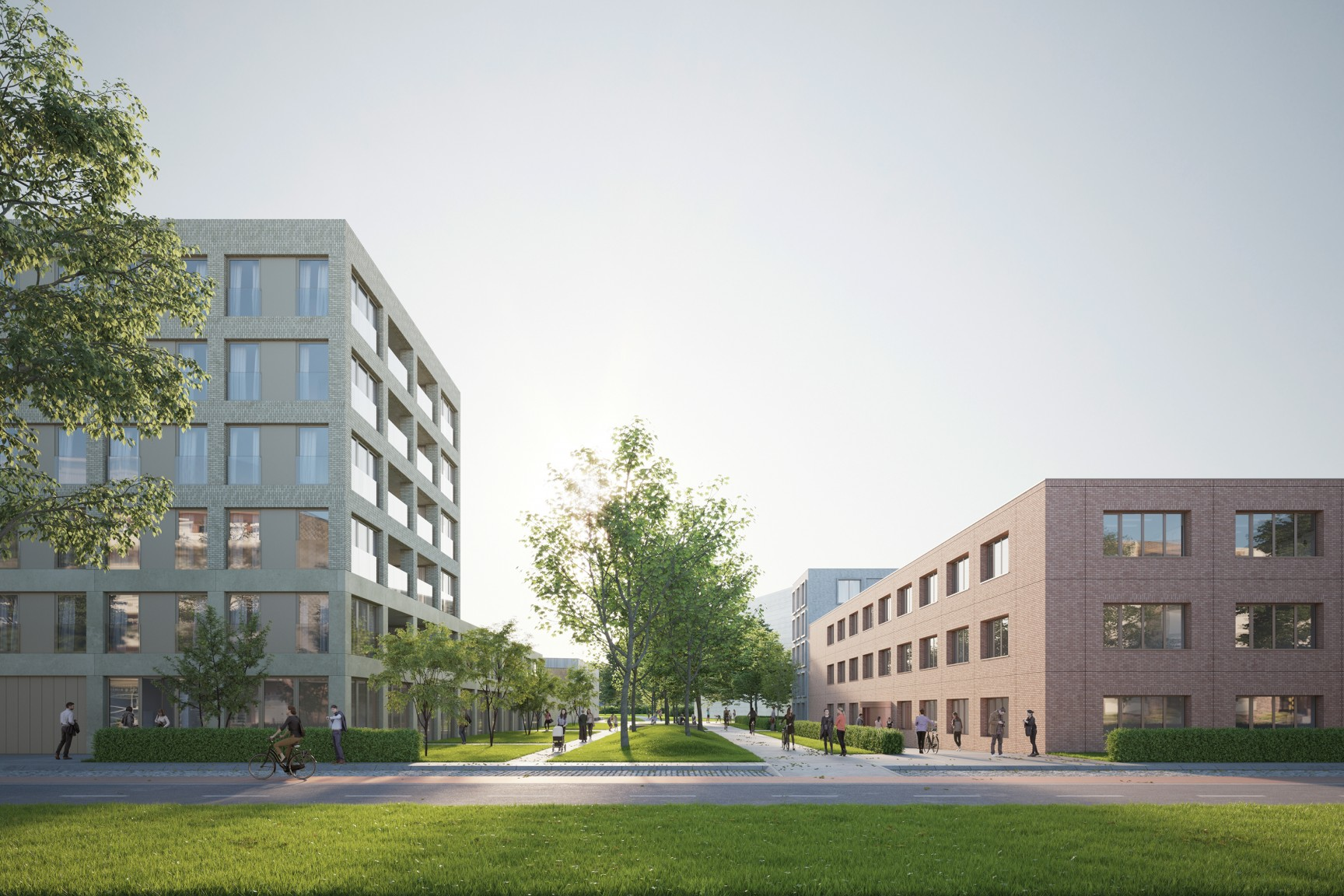Oude God infill project Mortsel